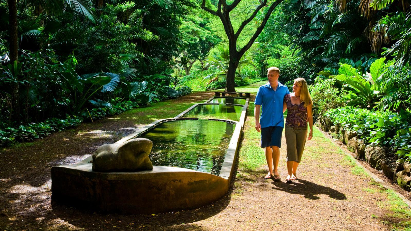 McBryde Garden reflecting pool