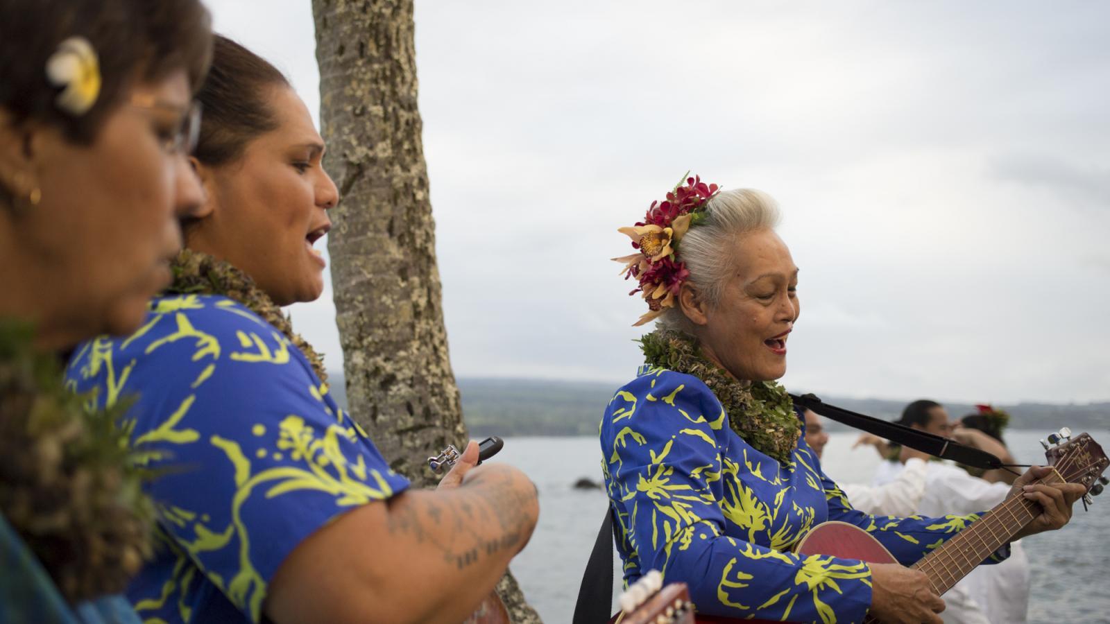 ハワイアンミュージックを楽しめる場所